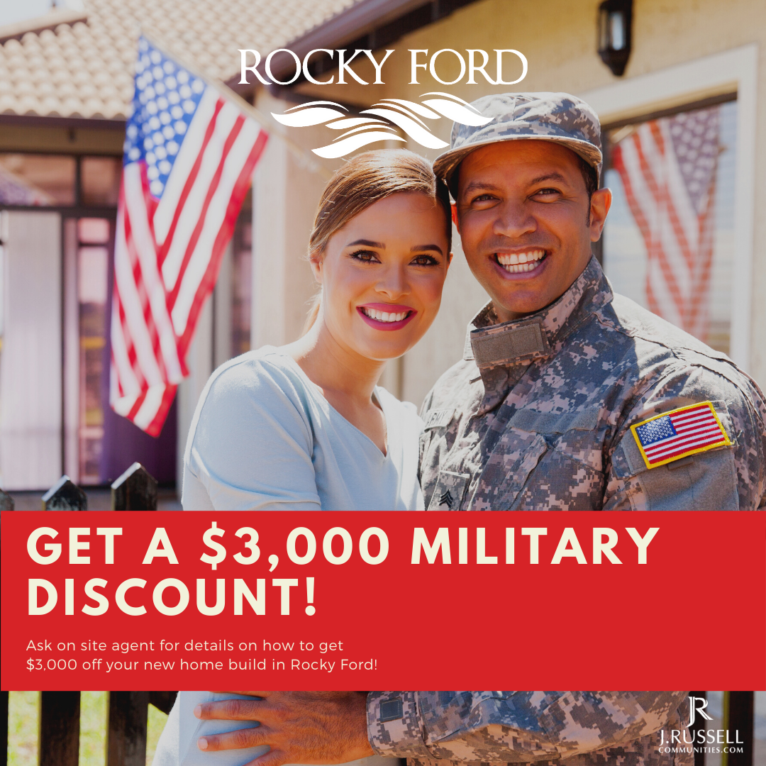 Rocky Ford Military Discount Couple