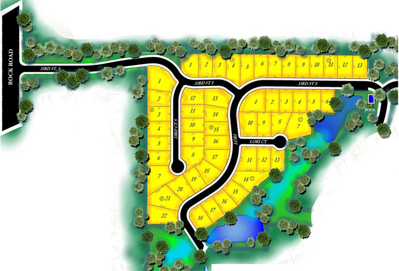 Rocky Ford Plat Map