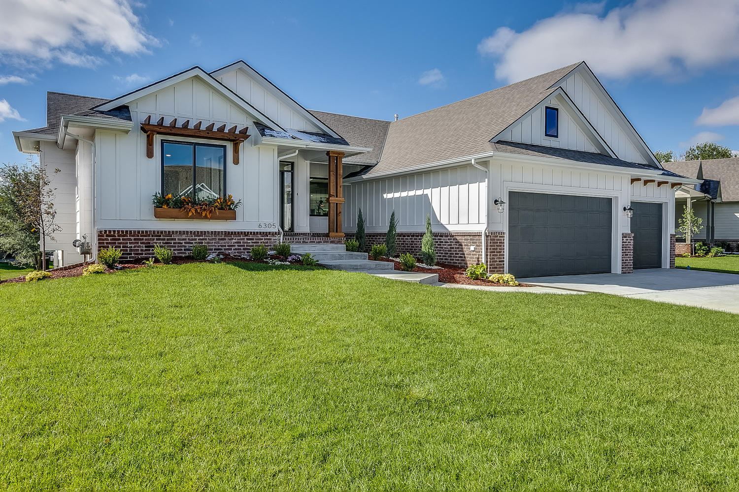 For sale 6305 driftwood wichita ks 67205 557946 jrussell communities for Exterior construction wichita ks
