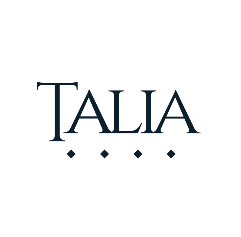 Talia Logo Black Transparent